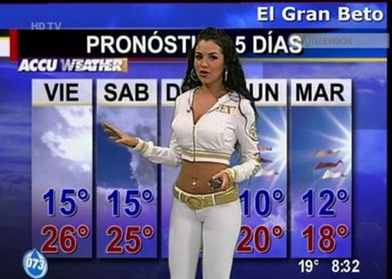 Excellent Hot latina weather girls authoritative