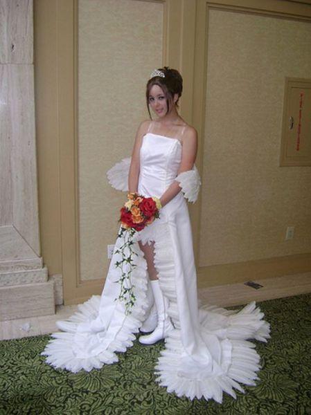 facts around us: Unusual Wedding Dresses | beautiful ...
