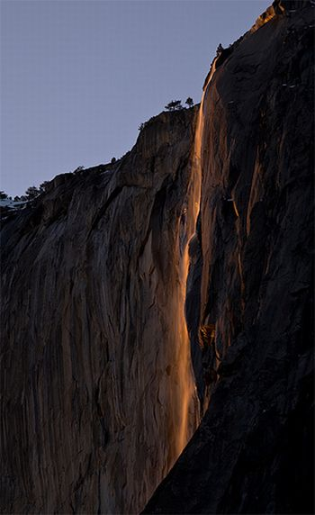 Horsetail Fall Damn Cool Pictures