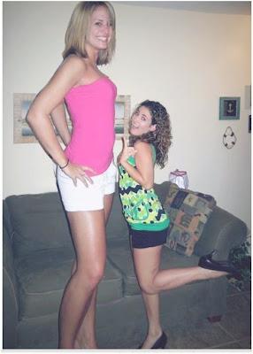اطول بنات في العالم