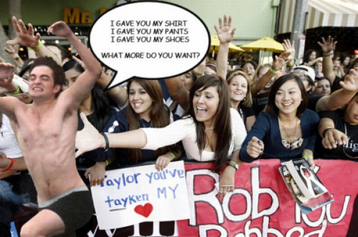 Hilarious Robert Pattinson Meme