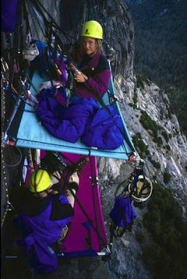 Extreme Hanging Tents Damn Cool Pictures