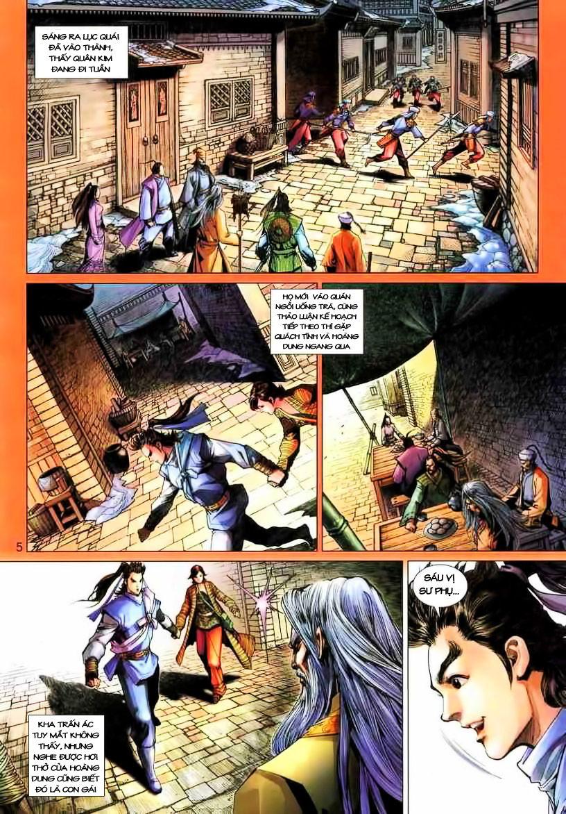 Anh Hùng Xạ Điêu anh hùng xạ đêu chap 19 trang 5