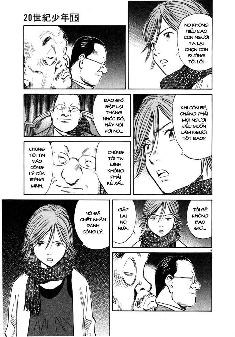 20th Century Boys chapter 161 trang 19