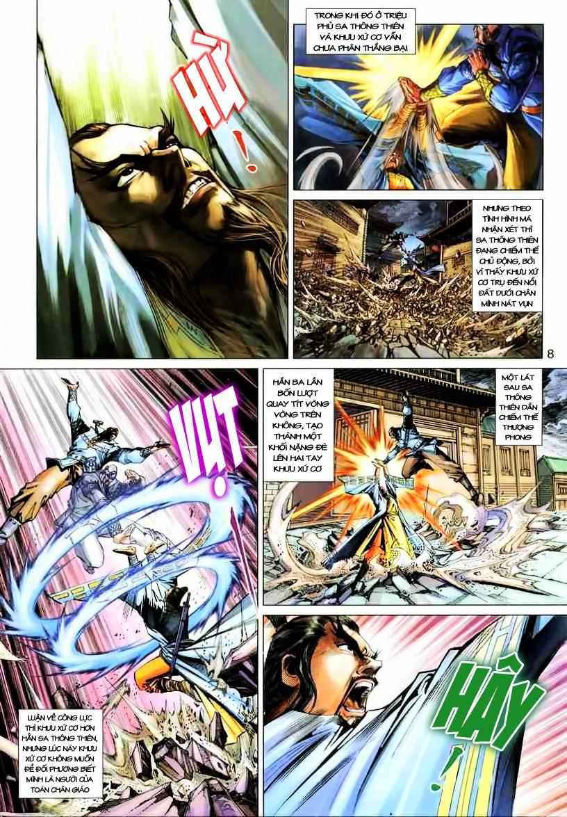 Anh Hùng Xạ Điêu anh hùng xạ đêu chap 19 trang 8