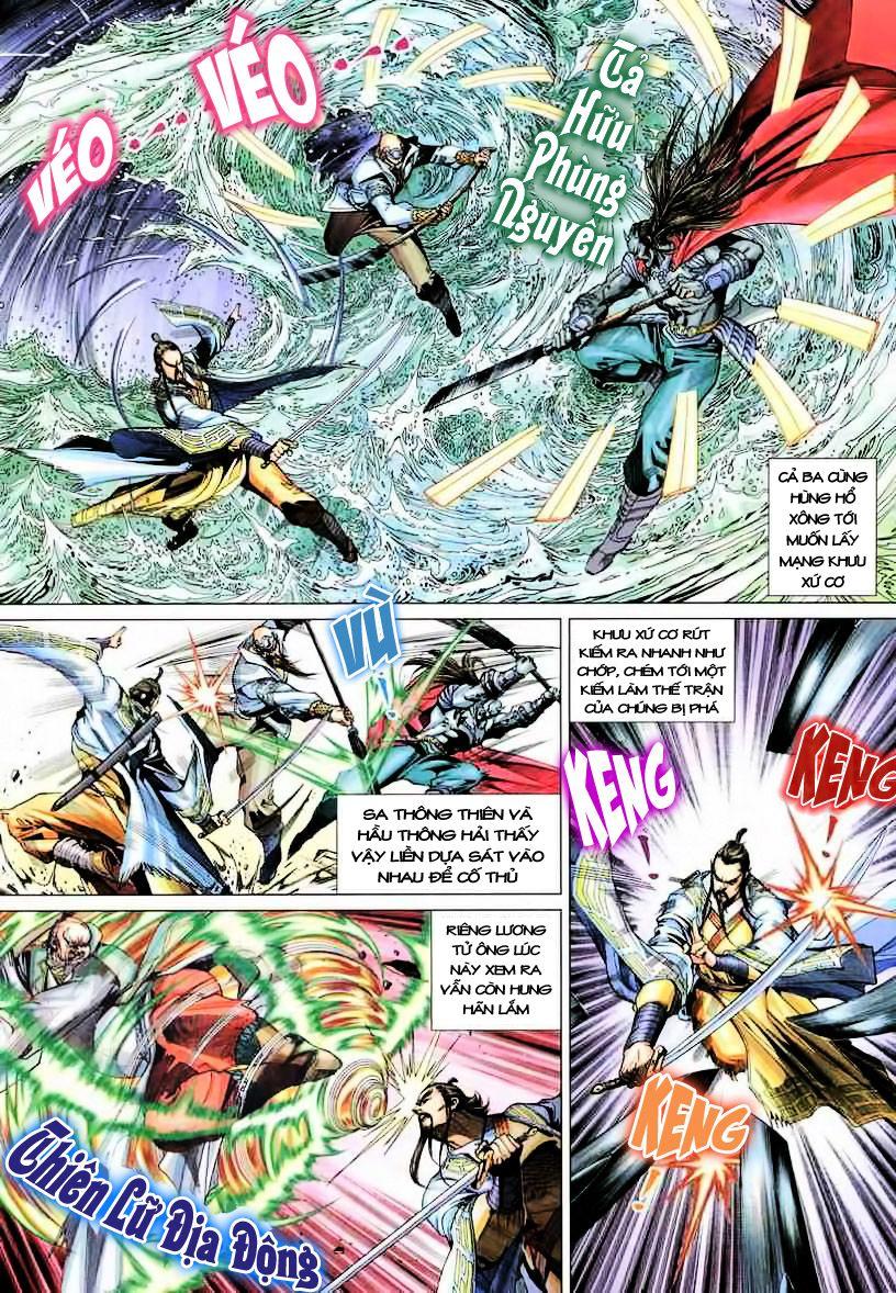 Anh Hùng Xạ Điêu anh hùng xạ đêu chap 19 trang 11