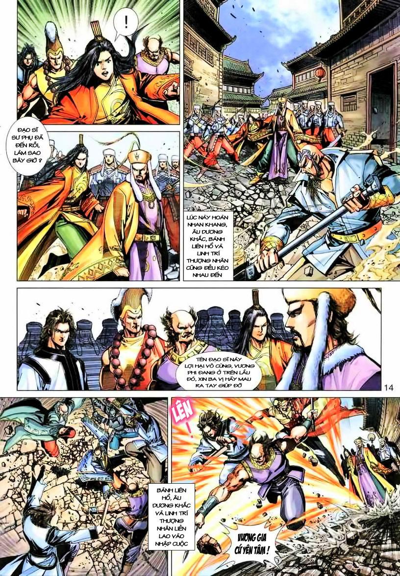 Anh Hùng Xạ Điêu anh hùng xạ đêu chap 19 trang 14