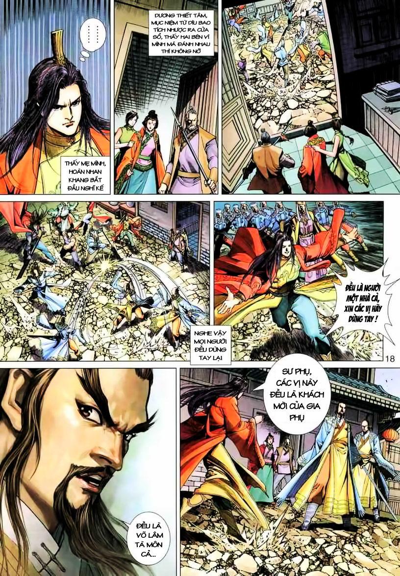 Anh Hùng Xạ Điêu anh hùng xạ đêu chap 19 trang 18
