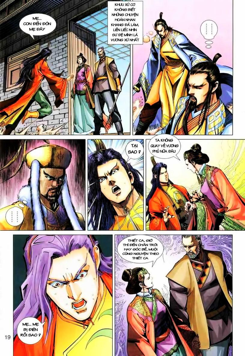 Anh Hùng Xạ Điêu anh hùng xạ đêu chap 19 trang 19