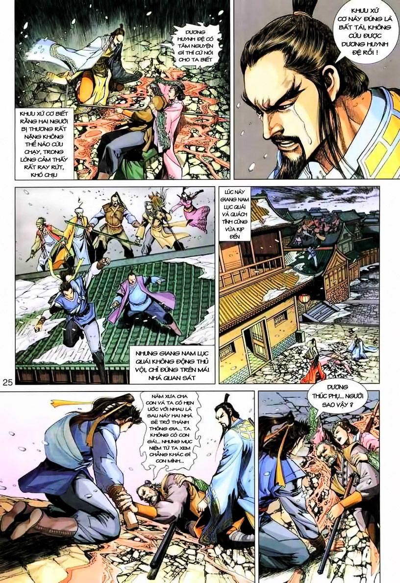Anh Hùng Xạ Điêu anh hùng xạ đêu chap 19 trang 25