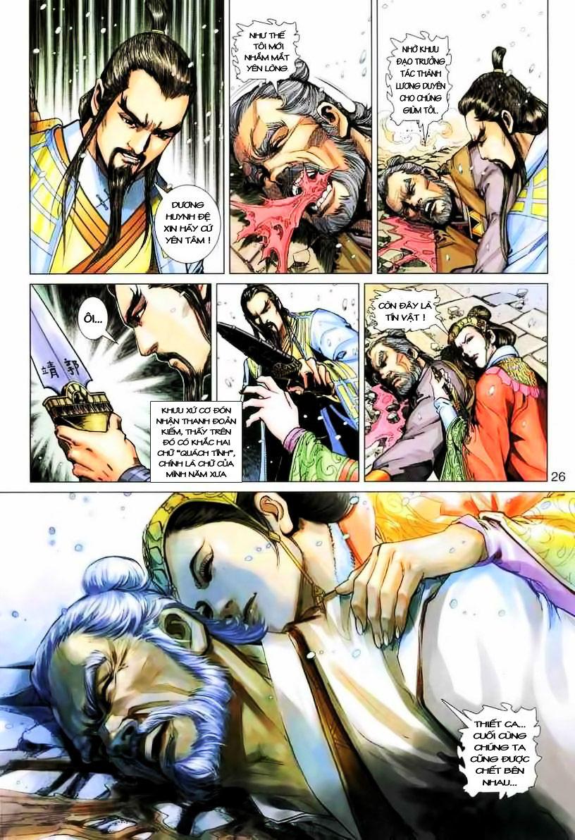 Anh Hùng Xạ Điêu anh hùng xạ đêu chap 19 trang 26