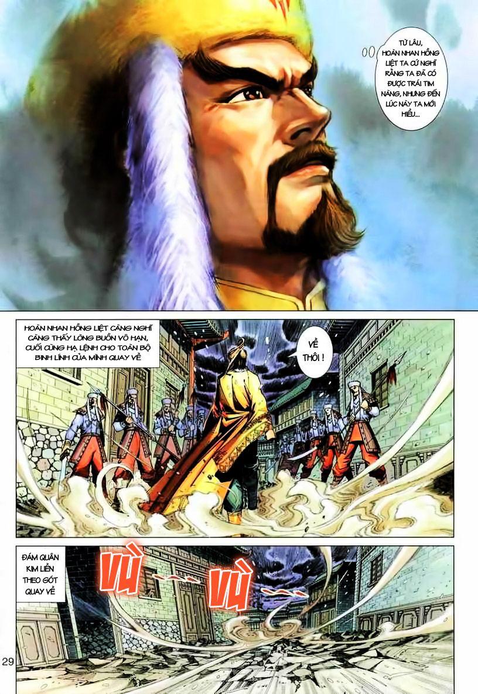 Anh Hùng Xạ Điêu anh hùng xạ đêu chap 19 trang 29