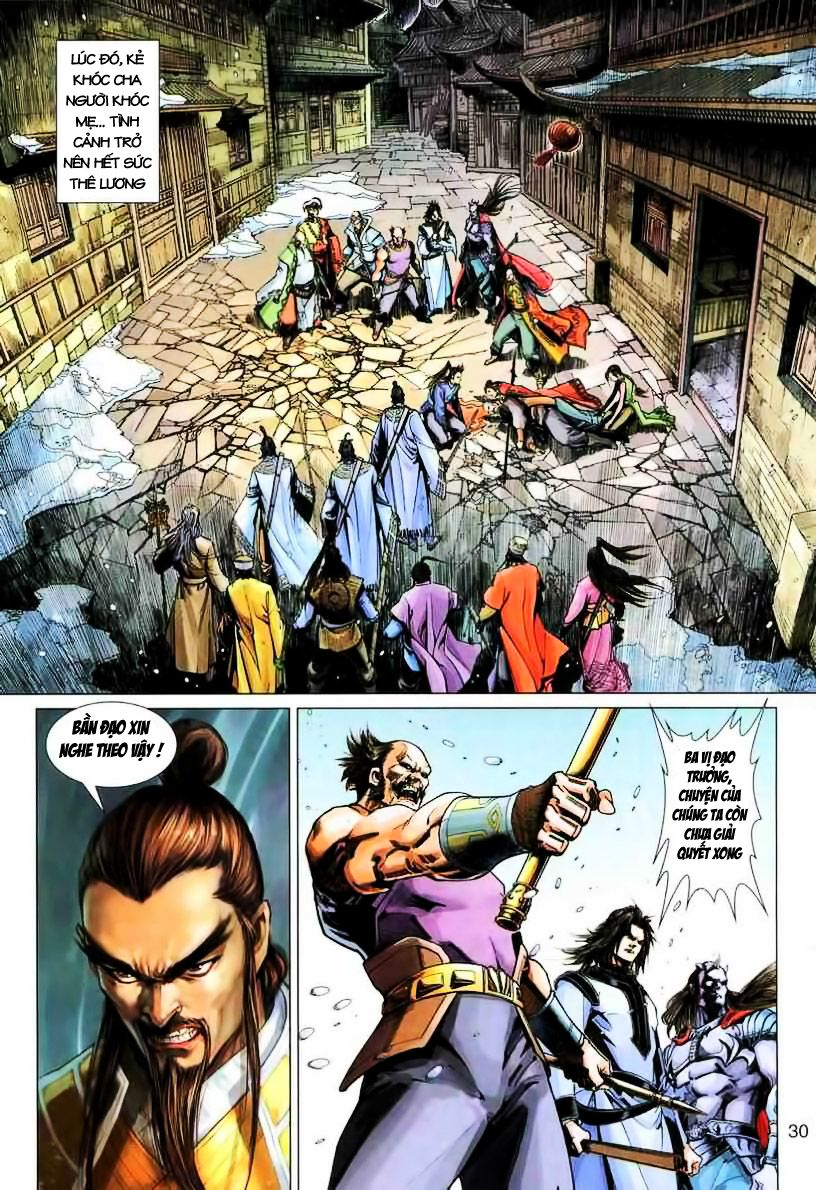 Anh Hùng Xạ Điêu anh hùng xạ đêu chap 19 trang 30