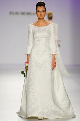 Vestidos novia para invierno