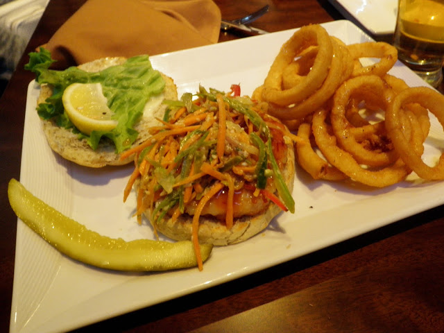 Tiger Shrimp Burger