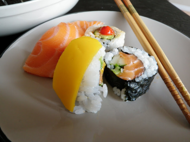 Sushi Rolls - Scrumptiously Fit Food