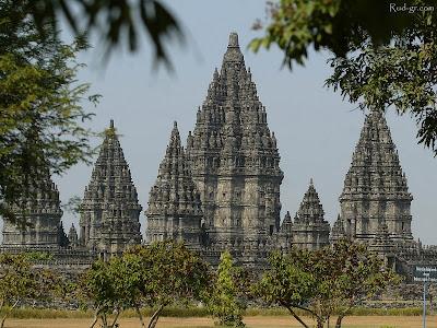 Prambanan Templo de Shiva, Central Java, Indonésia