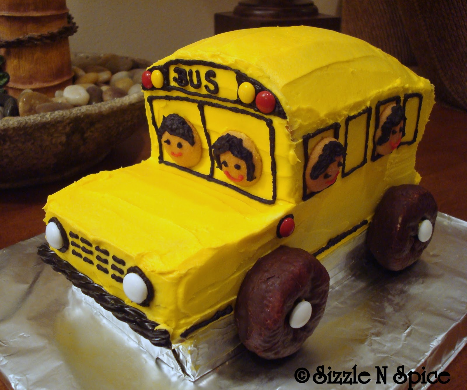 School Bus Cake Ideas