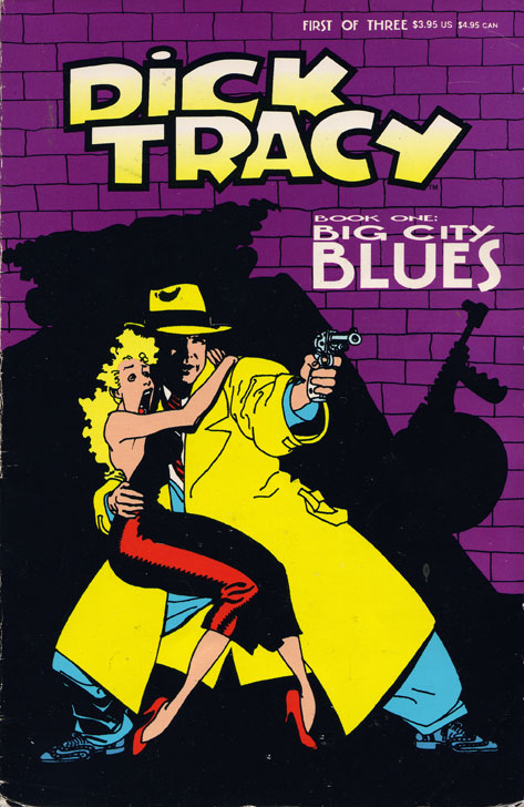Dick Tracy: Big City Blues by John Moore and Kyle Baker