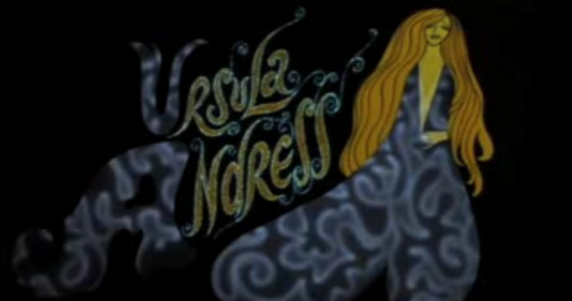 Ursula Undress, from the Richard Williams-animated opening titles for What's New Pussycat?