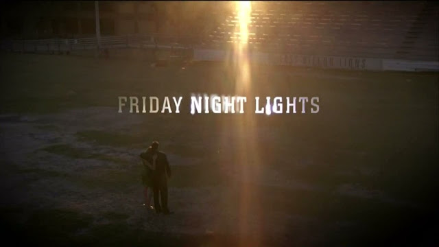 'If the quality of writing on FRIDAY NIGHT LIGHTS were the base standard for all network television, cable TV would collapse overnight.'--Patton Oswalt