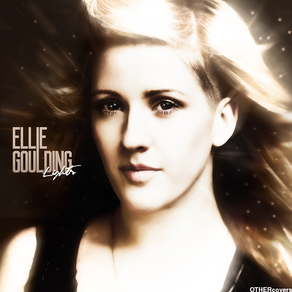 album cover ellie goulding. Ellie Goulding - Lights (FanMade Album Cover). Made by OTHERcovers
