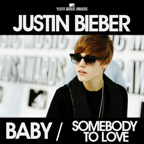 Coverlandia - The #1 Place for Album & Single Cover's: Justin Bieber - Baby/STL (MTV VMAs 2010 ...