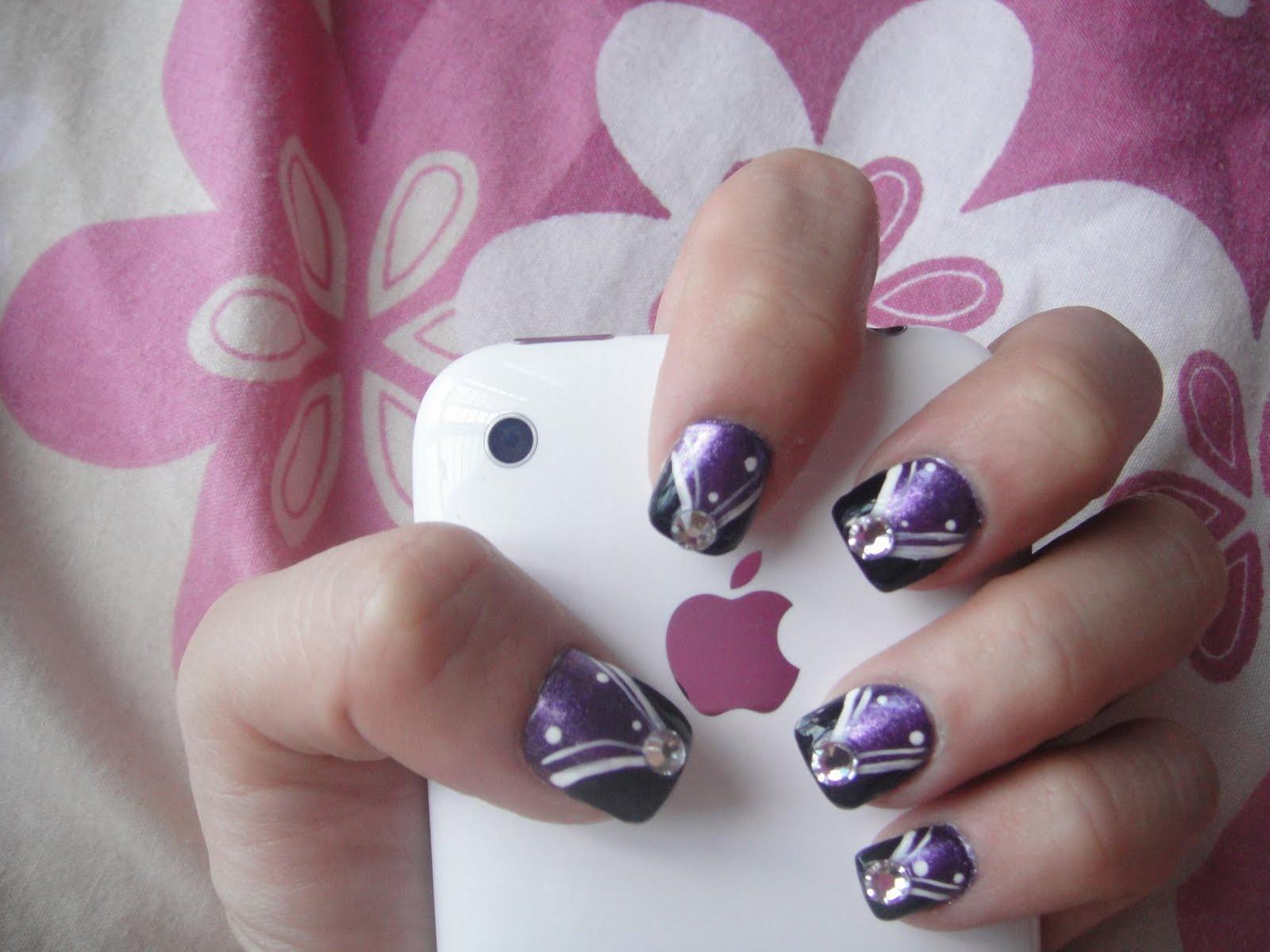 Nail designs for short nails pccala - Easy nail designs for short nails at home ...