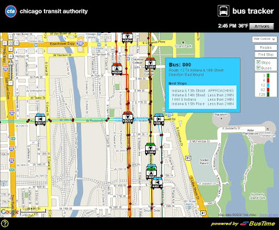 Sloopin - A South Loop Blog: CTA Bus Tracker Amazes