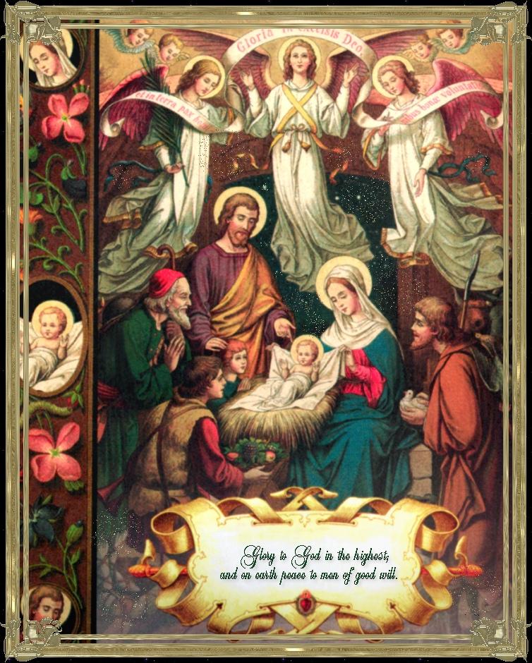 Catholic Activities Free Printable Manger Scenes