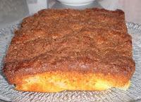 pastel de pera y canela