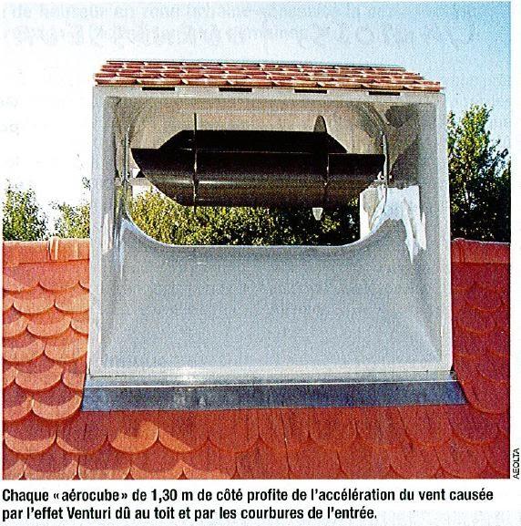 l 39 ecohabitat vivre plus sainement pour moins cher eolienne de toit. Black Bedroom Furniture Sets. Home Design Ideas