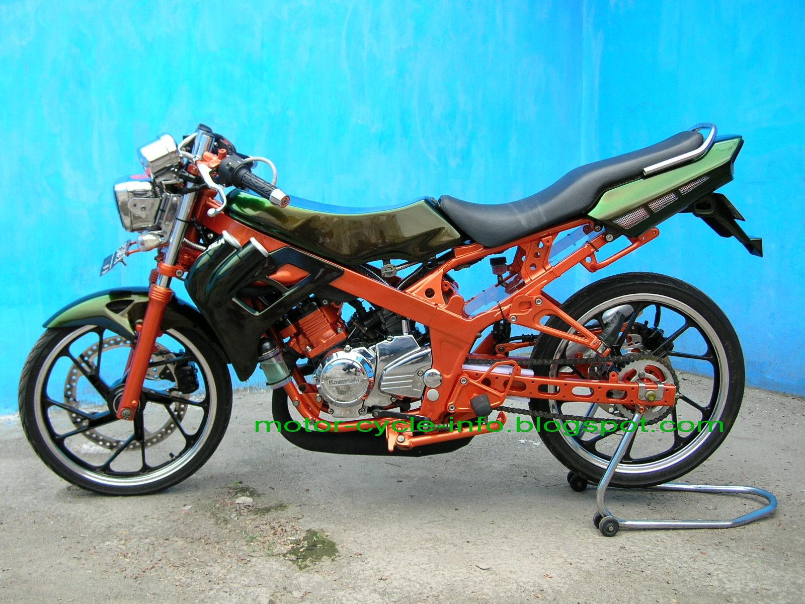 99 Gambar Motor Ninja 150 Modifikasi Terbaru Dan