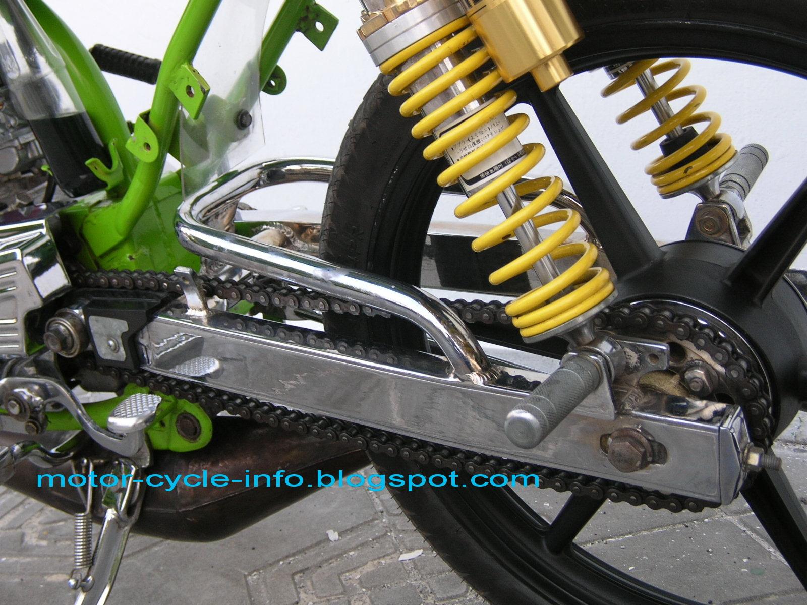 Modifikasi Motor Rx King Extreme Airbrush