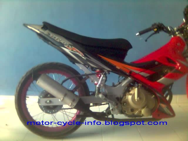 Cars And Motorcycles: Modifikasi Motor Satria FU Commont