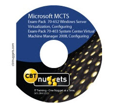 CBT Nuggets Microsoft 70 403 SCVMM and 70 652 Hype