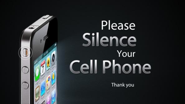 Very Please Quiet Your Cellphones! ~ Ministry Best Practices XP29