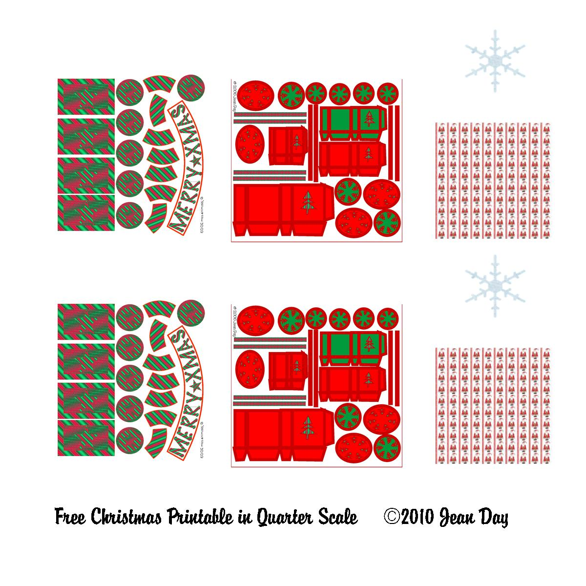 Jdayminis 1 12 Amp 1 48 Scale Minis Freebies Amp Inspiration Free Quarter Scale Printables