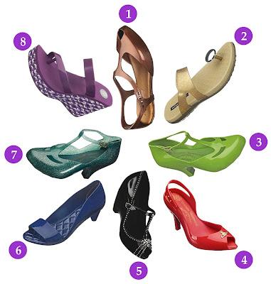 40c6aa222c Calçados em Promoção - Bazar Melissa. - Purple In Fashion - Moda ...