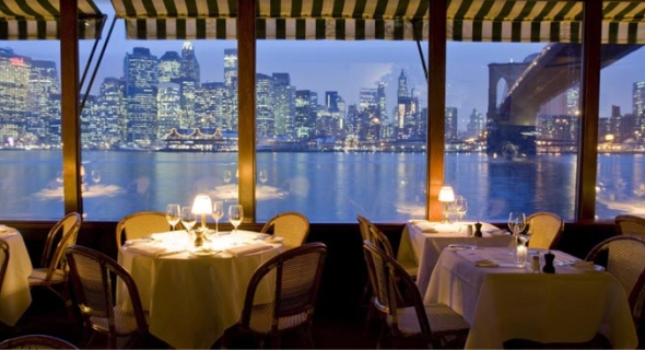 Le Bon Plan Du Restaurant The River Cafe A Brooklyn New