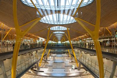 Arquitectura Espectacular Aeropuerto Madrid Barajas