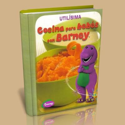 Cocina para bebés con Barney