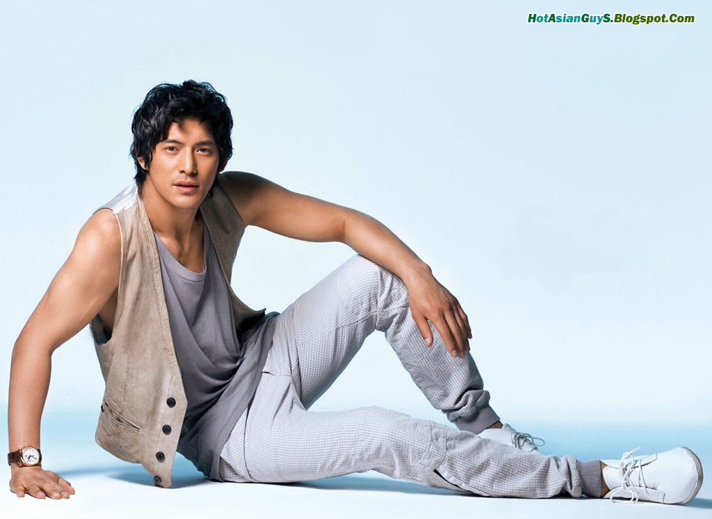 Remarkable, this asian model and actor consider