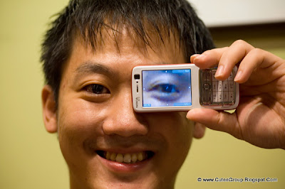 Zentw's Eye Transparent cellphone