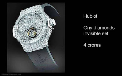 Hublot Ony diamonds invisible set 4 crores