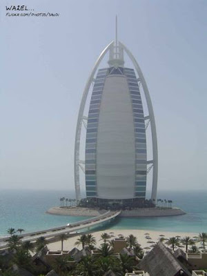 WORLD'S MOST EXPENSIVE HOTEL ....DUBAI...U.A.E Burj Al Arab Hotel, Dubai....only 7 Star Hotel in the World Cheapest room...$1000 per night......Royal suit....$28,000 per night