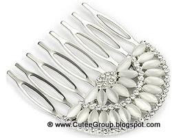 Beautiful Crystal Hair Comb