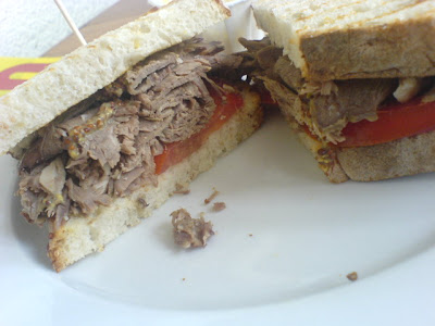 Simply Bread, sandwich