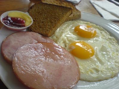 Simply Bread, ham eggs
