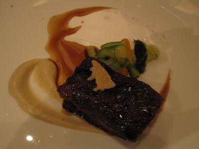 Saint Pierre, beef short rib